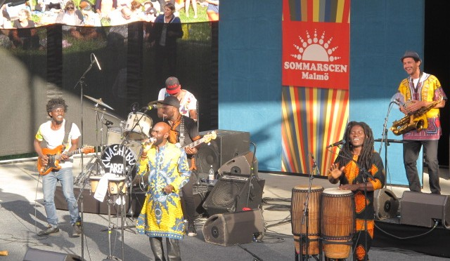 Pat Thomas & Kwashibu Area Band i Malmö