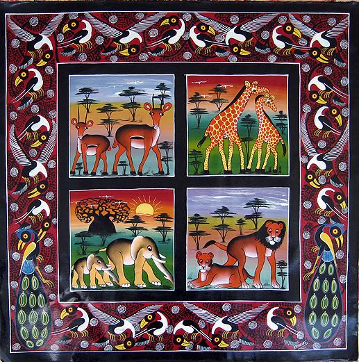Tingatinga – färgstark och glad konst med östafrikanskt ursprung