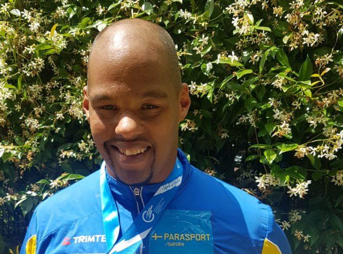 Jeffrey Ige är redo för Paralympics i Rio