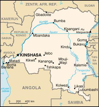 Stor politisk oro i Demokratiska republiken Kongo – minst 44 personer tros ha dödats