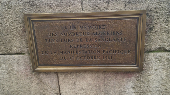 17 oktober 1961 – Demonstranter mördades och floden Seine blev deras grav