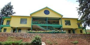 En skola byggd av systerorganisationen Child Africa. Foto: Asta Norrman