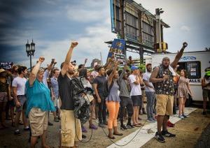 Demonstration mot orättvisor mot svarta människor i USA Foto: Pixabay