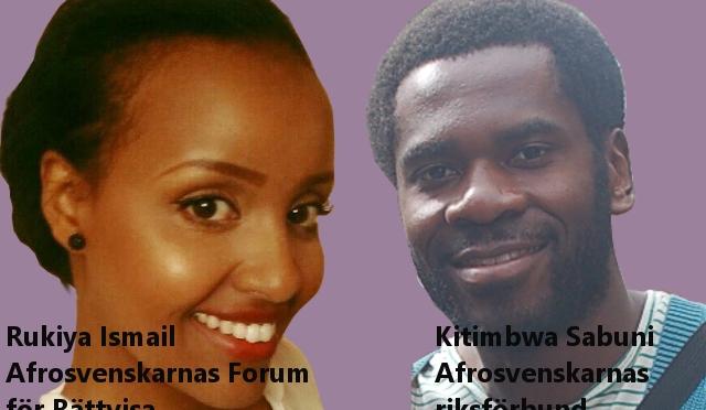 Öppet brev från Afrosvenskarnas Riksförbund och Afrosvenskarnas Forum för Rättvisa till Kommunstyrelsen i Malmö