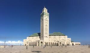 En av Marockos många moskéer. Foto: Pixabay