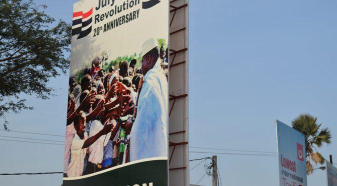 Ett nytt Gambia håller på att ta form