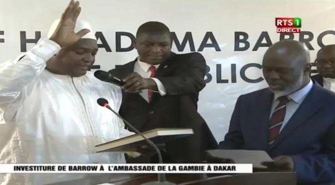 """Installationen av president Adama Barrow genomförd – """"Det finns inga förlorare i detta val"""""""