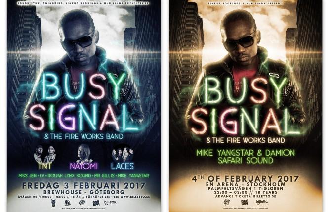 Busy Signal tillbaka i Sverige