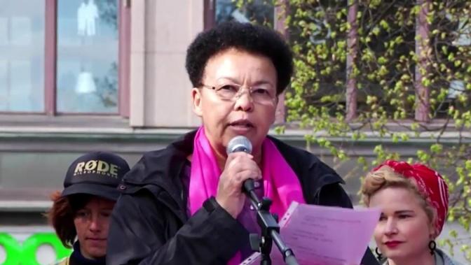 En stor antirasistisk röst har tystnat – Margaret Gärding har somnat in