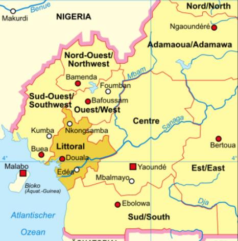 Kamerun, Brittiska Kamerun och Franska Kamerun – en liten historisk sammanfattning