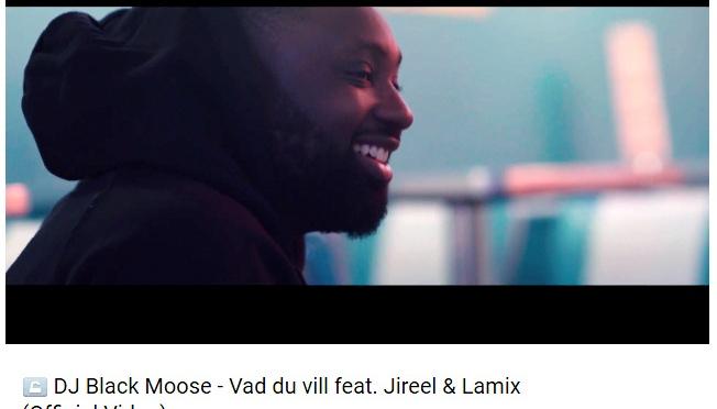 """DJ Black Moose släpper videon till """"Vad du vill"""" (feat Jireel & Lamix)"""
