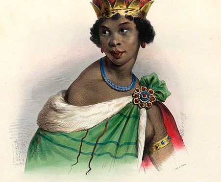 Bortglömd afrikansk hjältinna